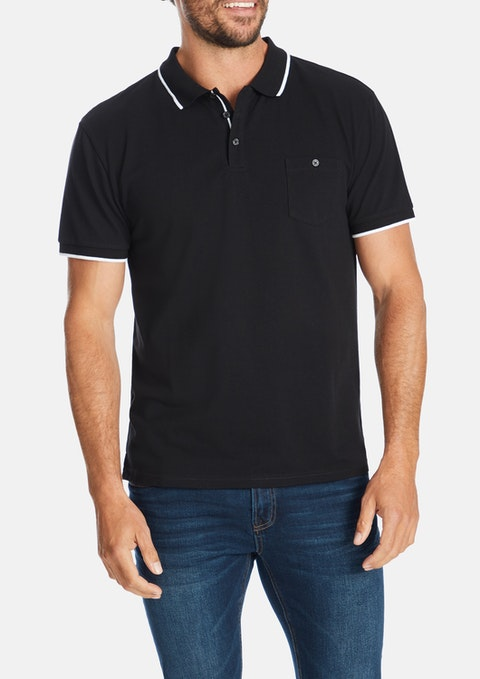 Black Blackburn Polo