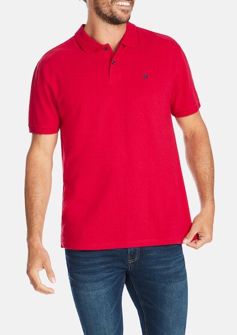 Red Portland Polo