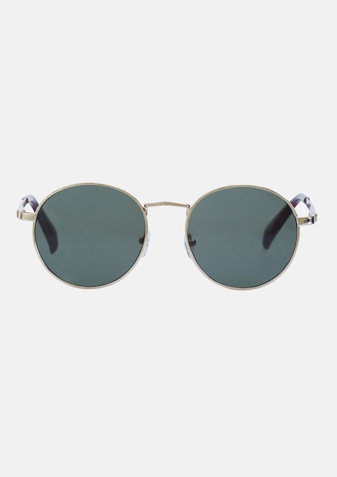 Gold Lennon Sunglasses