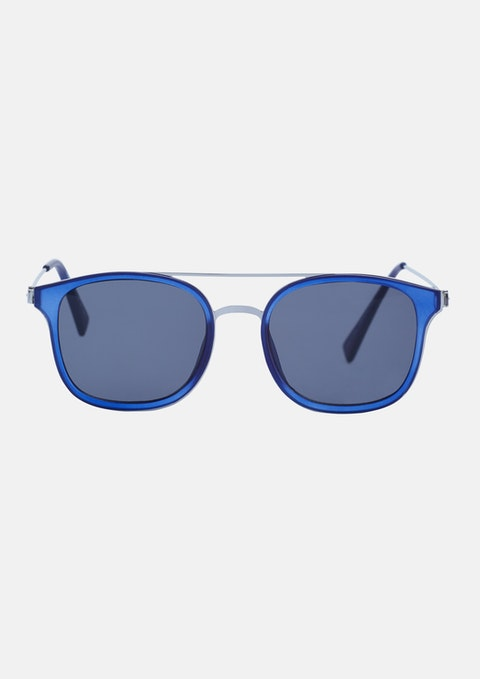 Blue Caden Sunglasses