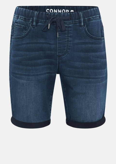 Blue Nash Denim Short