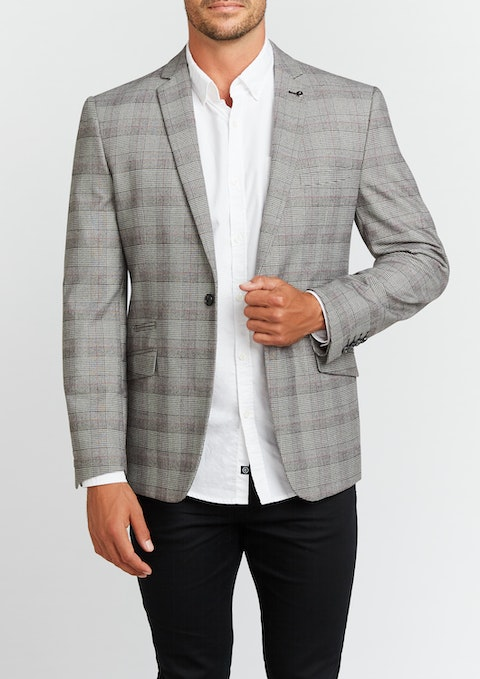 Grey Toby Slim Blazer
