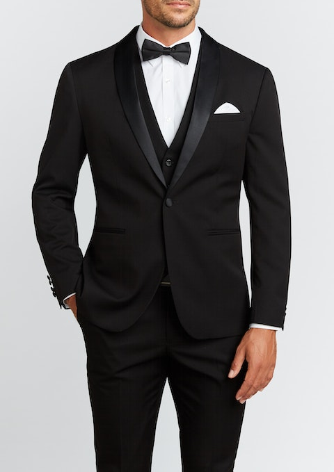 Black Diamond Stretch Slim Tuxedo