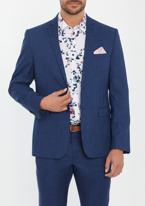 Blue Midtown Slim Suit Jacket