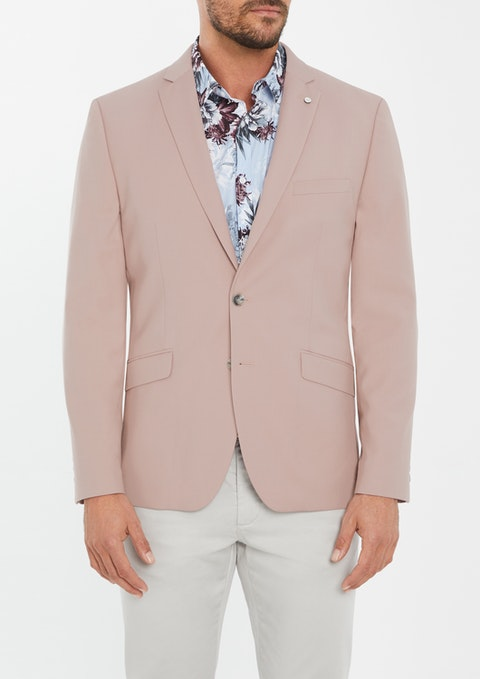 Pink Baltimore Slim Blazer