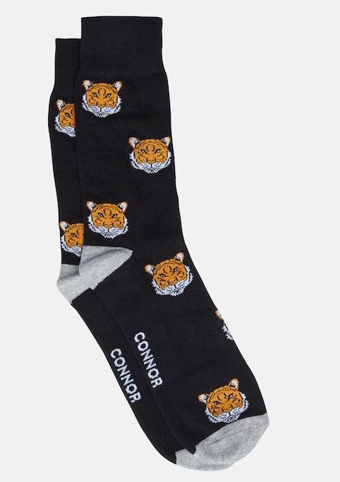 Black Tiger Sock