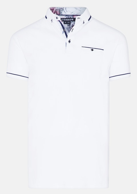 White Buckley Polo