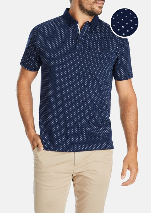 Navy Craig Polo
