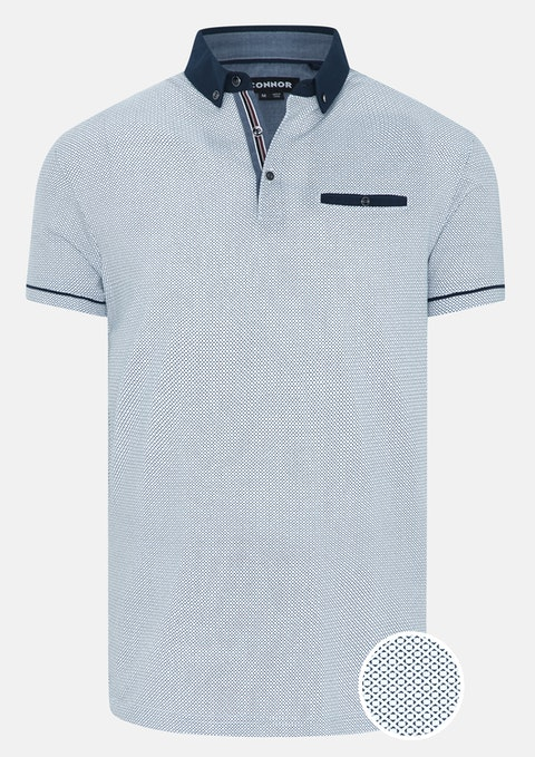 White Bradley Polo