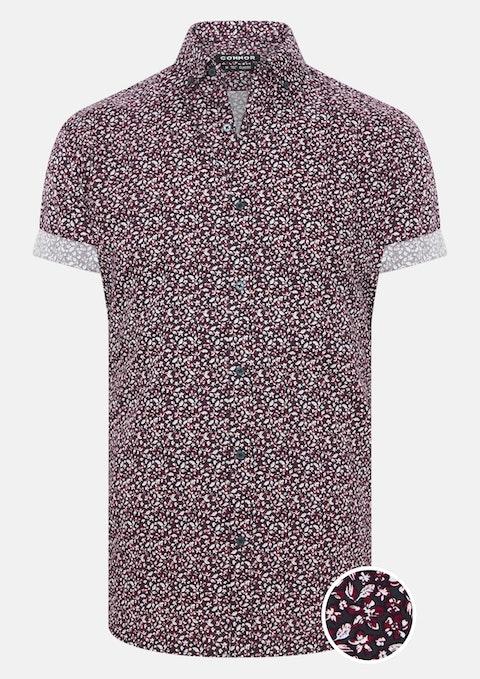 Wine Baldwin Shirt