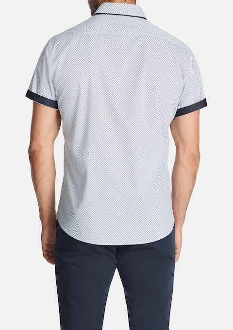 White Barret Slim Shirt