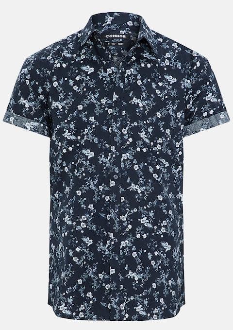 Blue Hoffman Slim Shirt