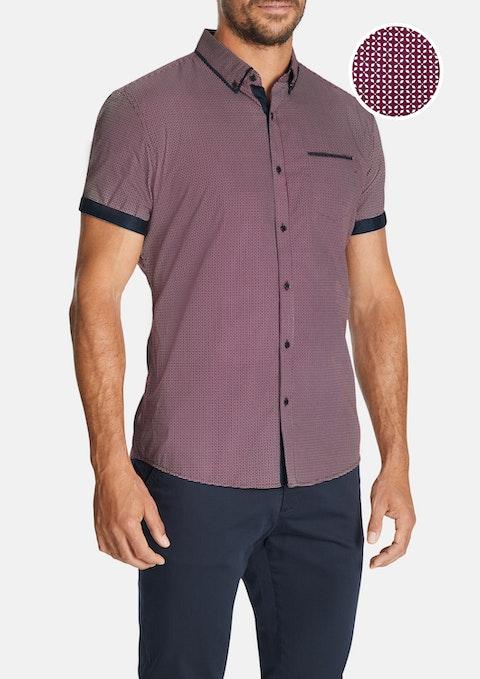 Wine Hudson Shirt