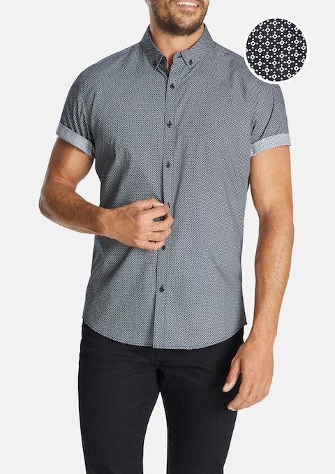 Navy Dobson Slim Shirt