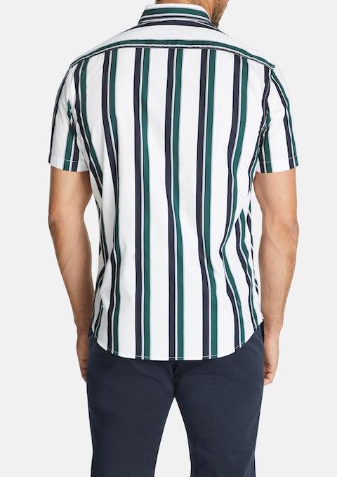 White Millard Slim Shirt