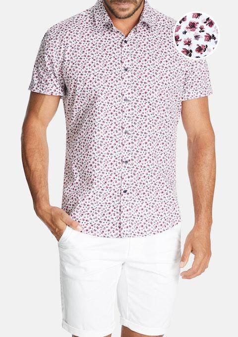 Berry Radley Floral Print Shirt