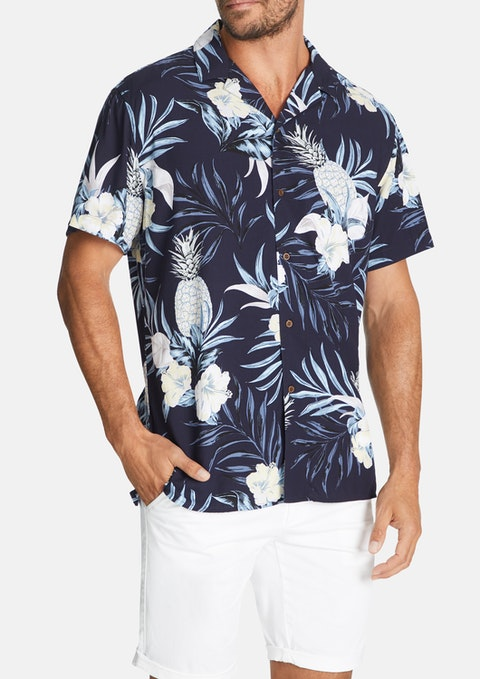 Navy Derek Shirt