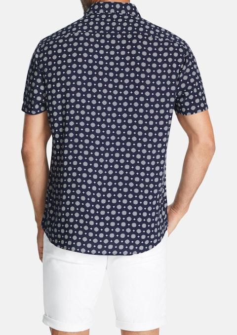 Navy Scottie Shirt