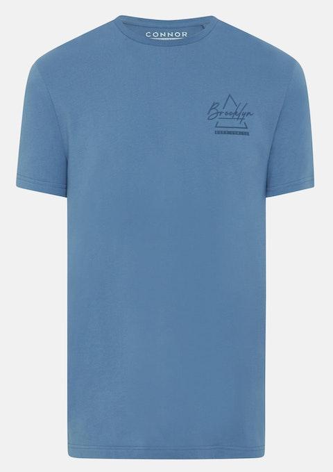 Blue Ralph Crew Longline Tee