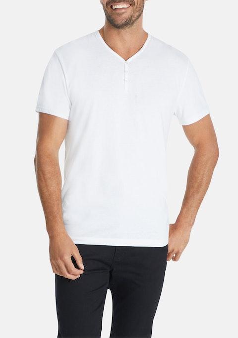 White Essential Henley
