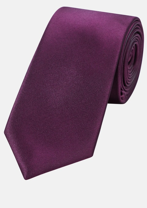 Berry Plain 6cm Tie