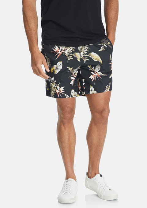 Charcoal Frankie Volley Short