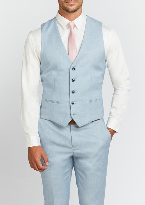 Light Blue Tribeca Waistcoat