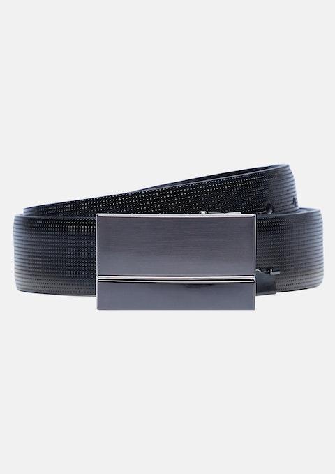 Black Harold Reversible Belt
