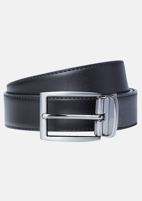 Black Tan Billy Reversible Belt