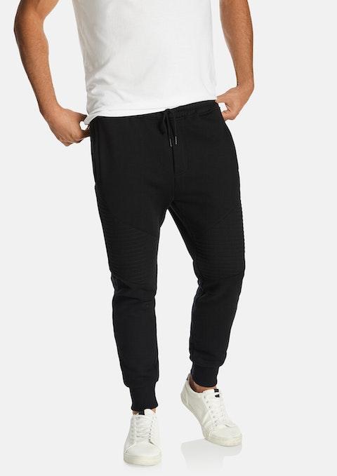 Black Coda Slim Track Pant