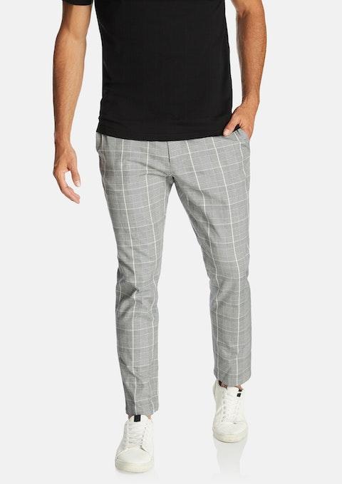 Grey Emmett Check Pant
