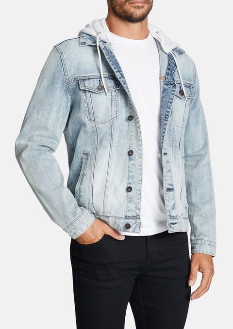 Light Blue Karter Denim Jacket