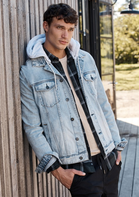 Light Blue Karter Denim Jacket