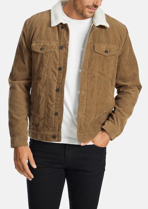 Camel Buxton Cord Jacket