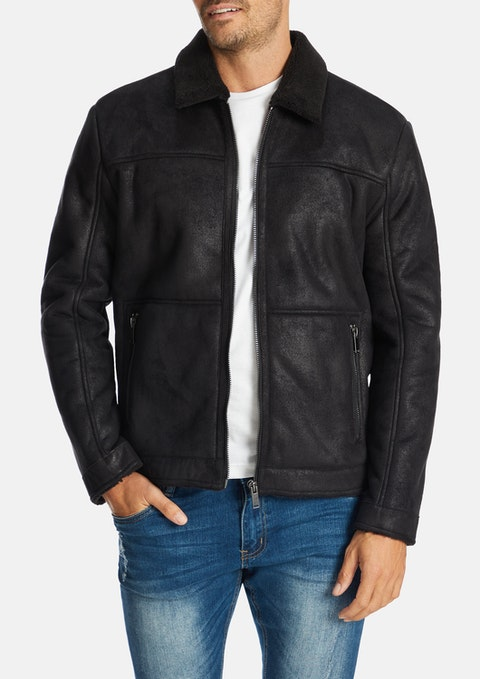 Black Barton Jacket