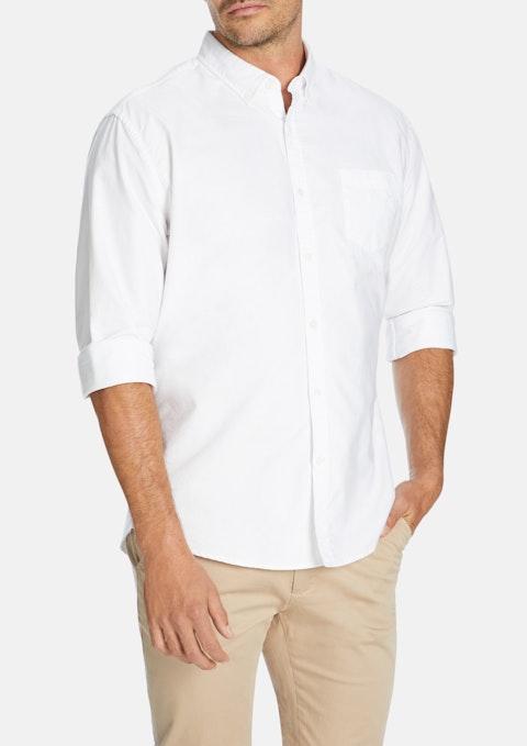 White Chapman Classic Casual Shirt