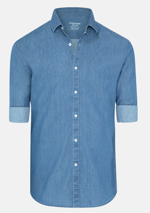Blue Eric Casual Shirt
