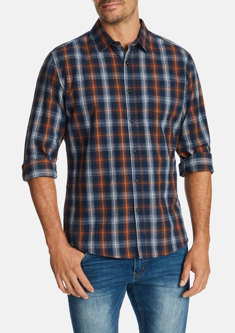 Rust Damien Slim Shirt