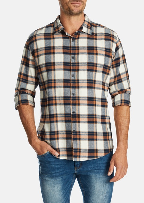 Tobacco Gerry Casual Shirt