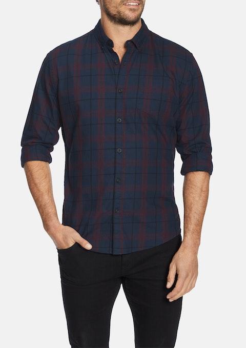 Plum Anderson Slim Shirt