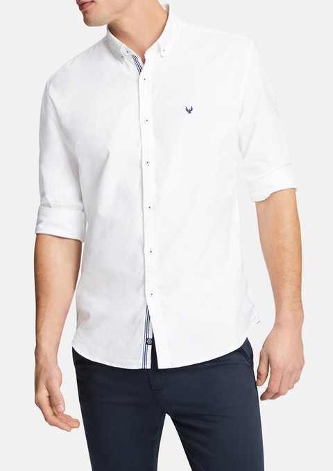 White Phoenix Casual Shirt