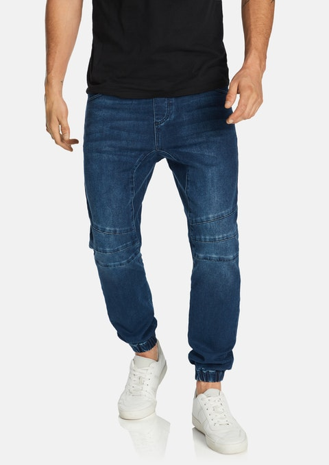 Blue Cormack Denim Jogger