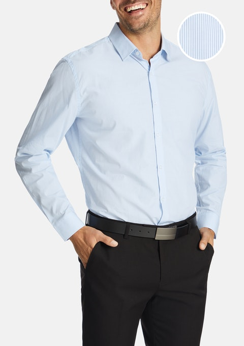 Light Blue Westley Dress Shirt