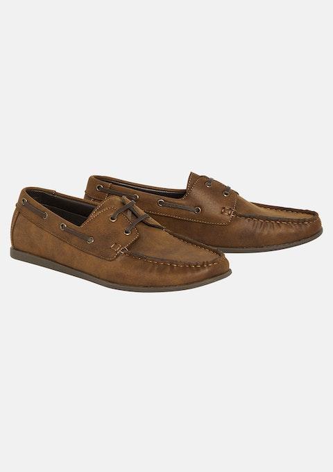 Tan Meddy Shoe