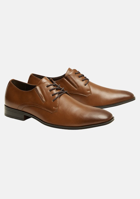 Tan Broad Shoe