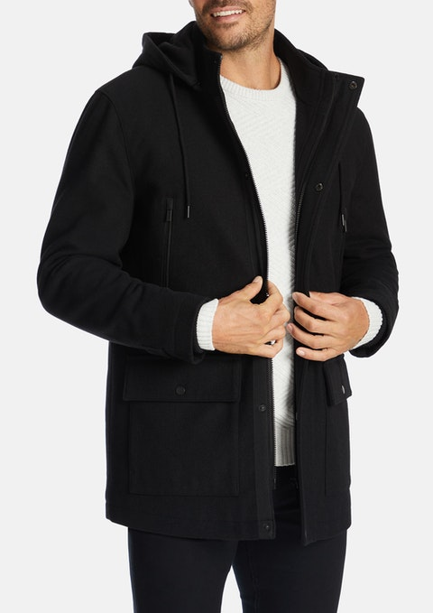 Black Broderick Jacket