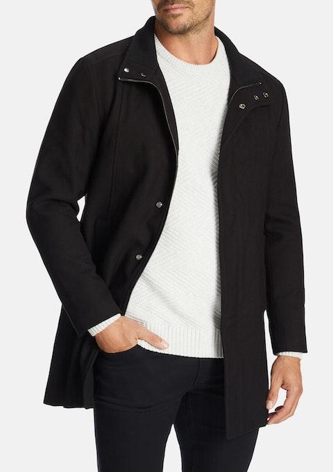Black Cheshire Coat