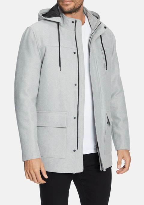 Light Grey Hampshire Jacket