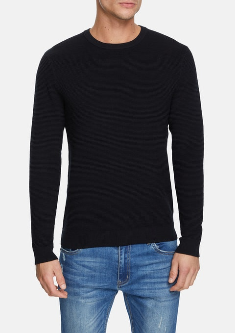 Black Hoxton Knit