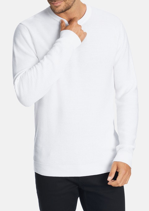 White Hoxton Knit
